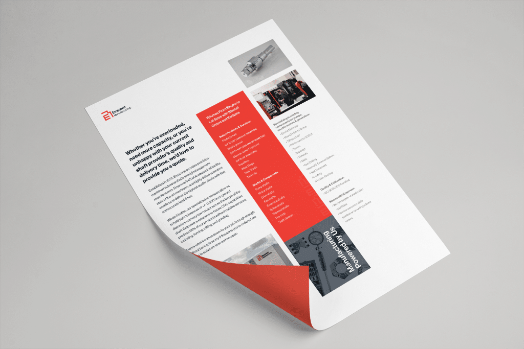Empower Manufacturing Document design