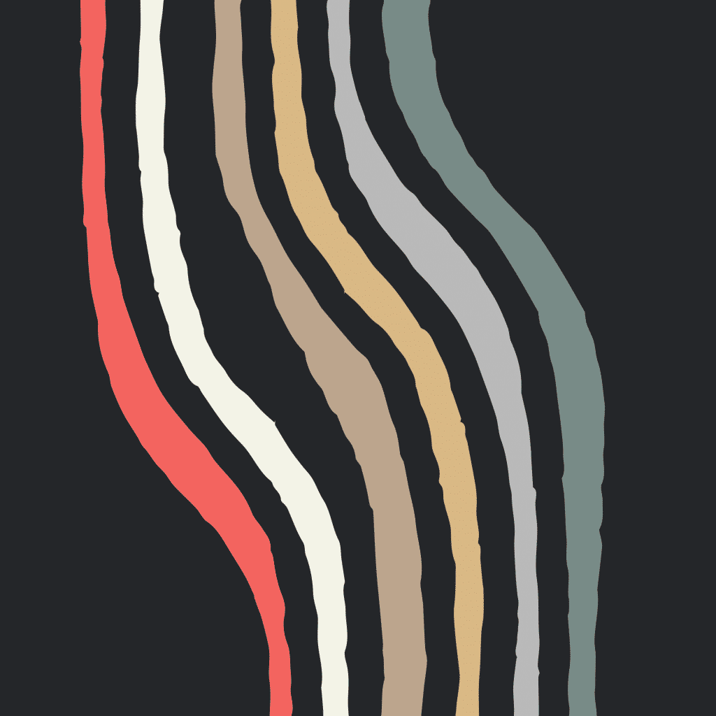 Ripple color wavy line system